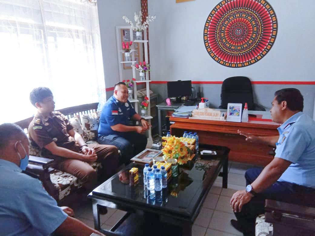 Koordinasi Antara Kepala Cabang Kejaksaan Rantepao dengan Kepala Rutan Makale