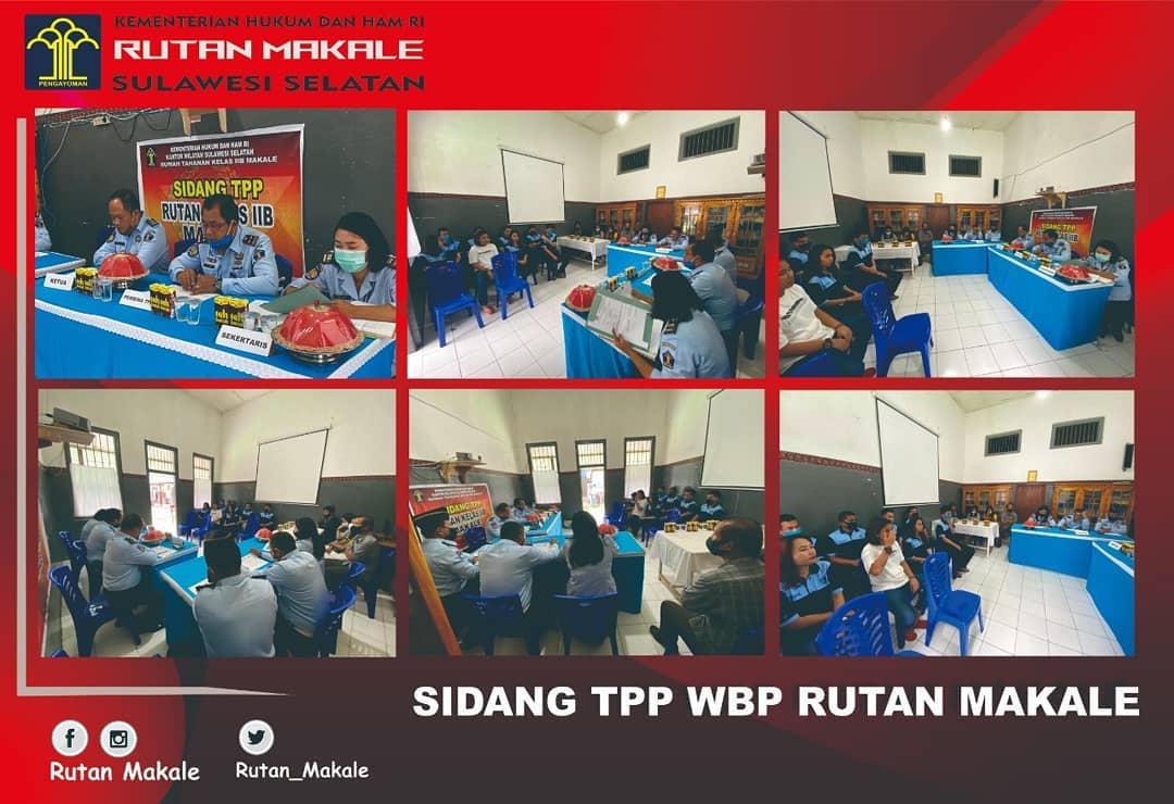 Sidang TPP WBP Rutan Makale