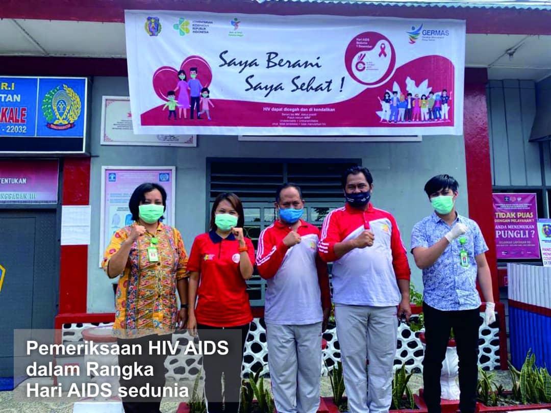 Pemeriksaan HIV/AIDS dalam Rangka Hari AIDS Sedunia